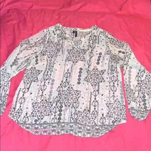 Maurice size 0 blouse